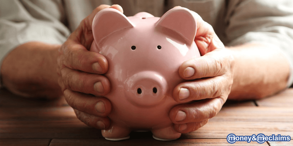 person protecting their pension from pension scams