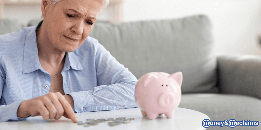 woman who has fallen victim to pension mis-selling